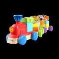 积木组合小火车