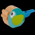蓝绿色小鸟口哨